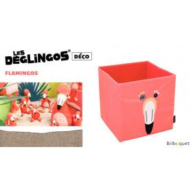 Boîte de rangement Flamingos Le flamant rose - Déglingos Déco
