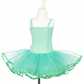 Tutu Dress Sheila - green - Costume for Girl