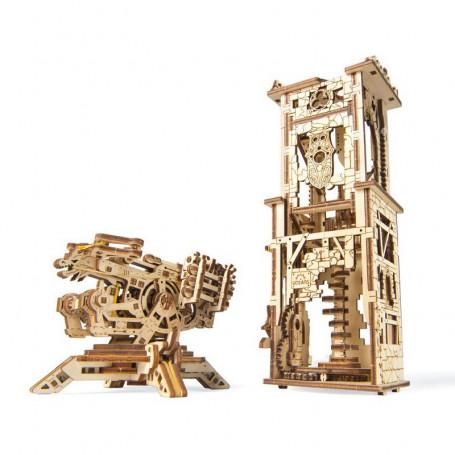 Maquette mécanique Arbalète à tour - Ugears