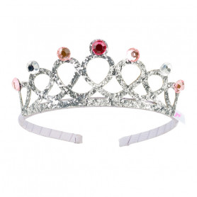 Emy Silver Crown - Accessory for girls