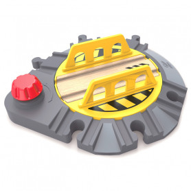 Adjustable Rail Turntable - Accessory for wooden train circuits