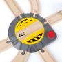 Plaque tournante - Accessoire pour circuits de train en bois