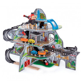 Mighty Mountain Mine - Wooden Train Set
