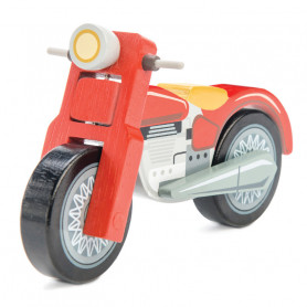Moto rouge - Traditional Toy