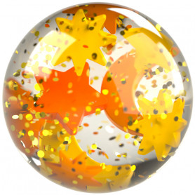 Effect ball Glitter Stars - Kullerbü