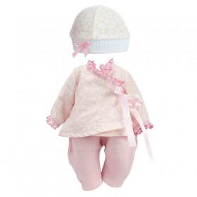 Vêtement Bonbon rose pour poupée de 28 à 35 cm - Petitcollin