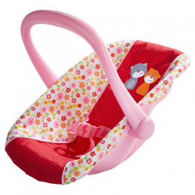 Doll's Baby Car Seat Flower meadow