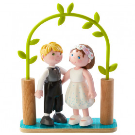 Bride & Groom - Little Friends