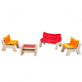 Dollhouse Furniture Living Room - Little Friends