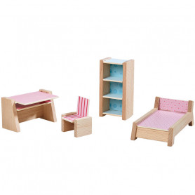 Dollhouse Furniture Teenager's Room - Little Friends