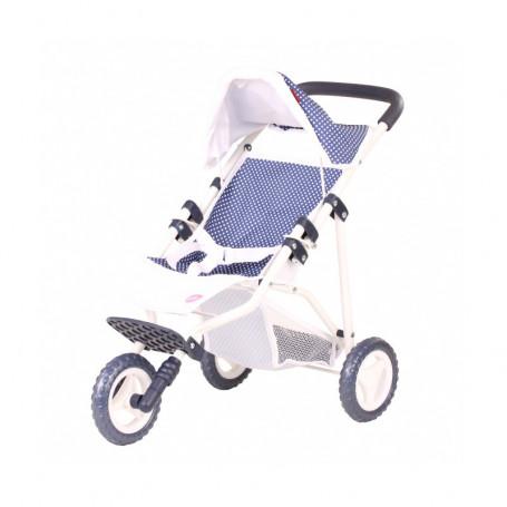 Poussette 3 roues - Accessoire pour poupée