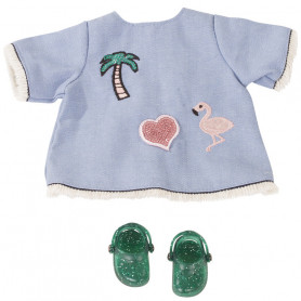 Set Jeans Beach - Set of clothes for Gotz doll