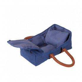 Travel Cot Denim - Accessory for doll