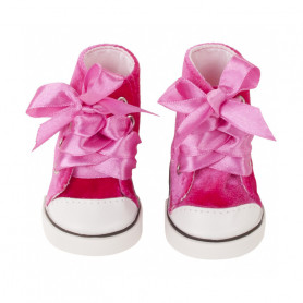 Trainers Pink Velvet for Gotz doll