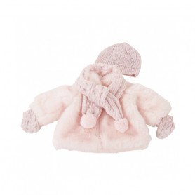 Winter set Furry Christmas - Gotz doll clothes