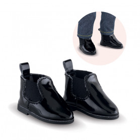 Black boots for doll Ma Corolle