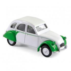 Citroën 2CV Dolly 1986 - white & green - Norev Rétro