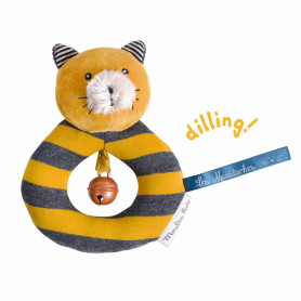 Ring rattle Cat Lulu