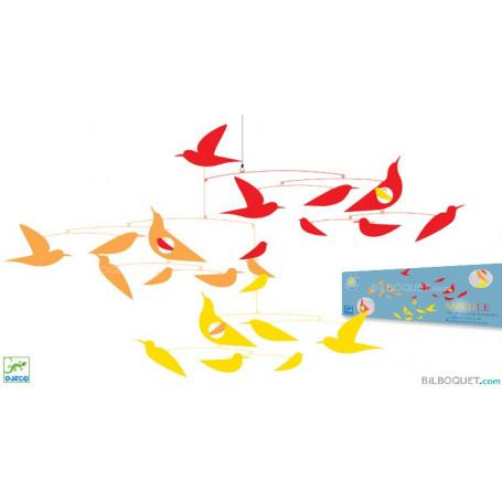 Mobile Des oiseaux en harmonie