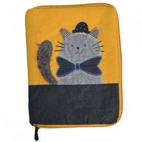 Protège carnet de santé Fernand le chat