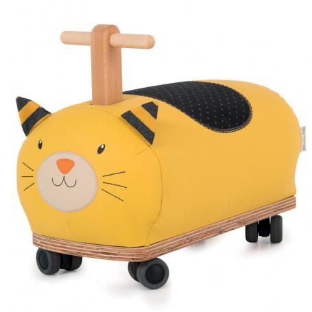 Porteur roue folle Lulu le chat