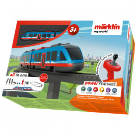 Coffret de départ Airport Express chemin de fer aérien - Märklin my world