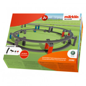 Elevated Railroad Track Extension Set - Märklin my world