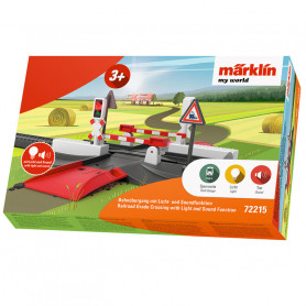 Railroad Grade Crossing with Light and Sound Function - Märklin my world