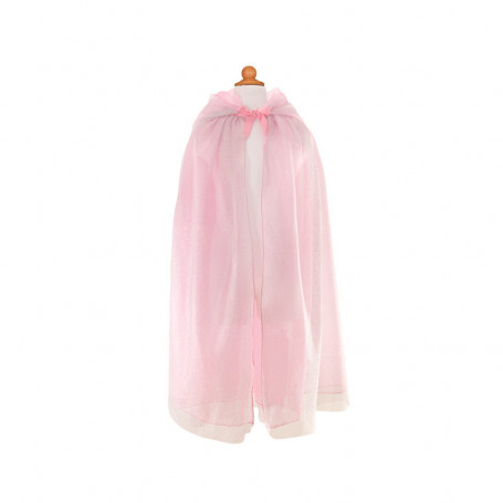 Princess Cape pink and silver - Costume for Gir