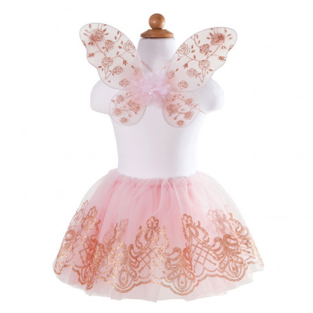 Rose Gold Tutu and Wings - Costume for Gir