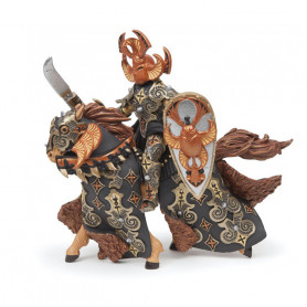 Dark beetle warrior and horse - Papo Figurine