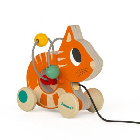 Mini Looping Chat Roux Jouet D'éveil QrthdsC