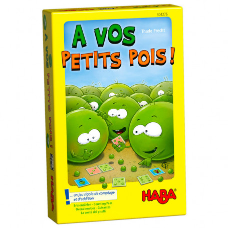 Counting Peas - Counting peas