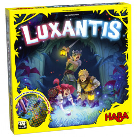 Luxantis - Interactive game board with LED labyrinth