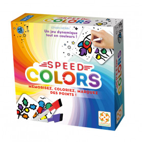 Speed colors - Mémorisez, coloriez, marquez des points !