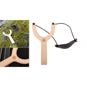 Wooden Slingshot - Accessory for kids