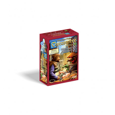 2nd Expansion for game Carcassonne