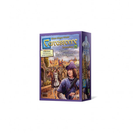 6th Expansion for game Carcassonne