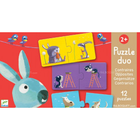 Puzzle duo Contraires