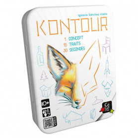 Kontour - 1 concept, 15 traits, 30 secondes