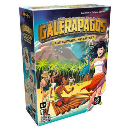 GALERAPAGOS - A cooperative game... until the food is gone!