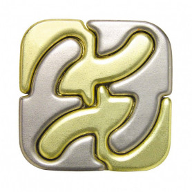 Cast Puzzle metal Square - Level 5