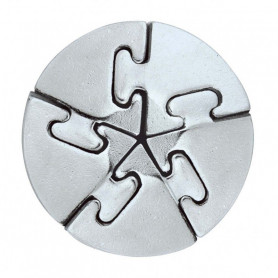 Cast Puzzle metal Spiral - Level 5