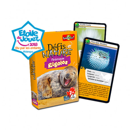 Funny Animals - Défis Nature - Card Game