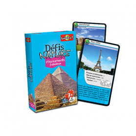 Fabulous Monuments - Défis Nature - Card Game