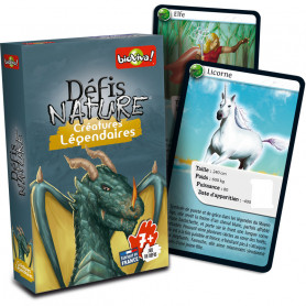 Legendary Creatures - Défis Nature - Card Game
