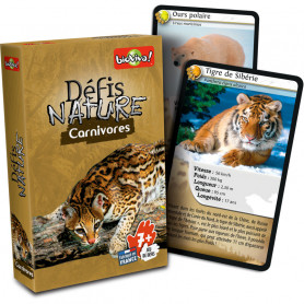 Carnivores - Défis Nature - Card Game