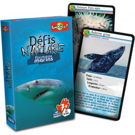Marine animals - Défis Nature - Card Game