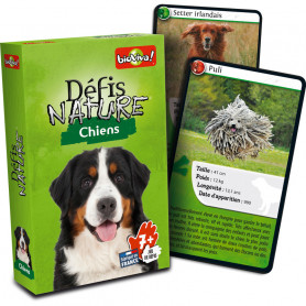 Dogs - Défis Nature - Card Game
