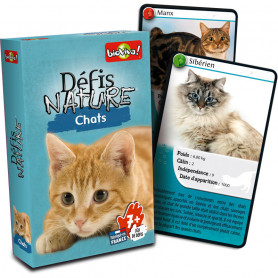 Cats - Défis Nature - Card Game
